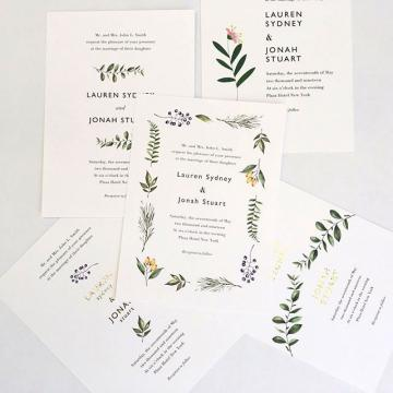 Wedding place cards - Print Glorious Print