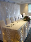 Contact Kate at Vintachic Wedding planning and Grand Reception room Designs now to get a quote