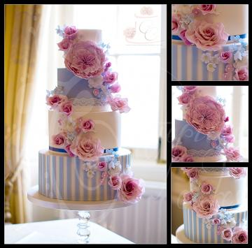 Wedding Cakes, Ideas, Inspiration and Makers - Centrepiece Cakes