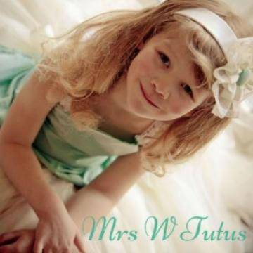 Wedding Accessories - Mrs W Tutus
