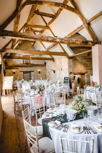 Civil Ceremony License Wedding Venues - Oxleaze Barn