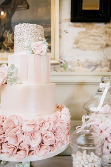 Wedding Cakes, Ideas, Inspiration and Makers - Pink Frosting Cake Company