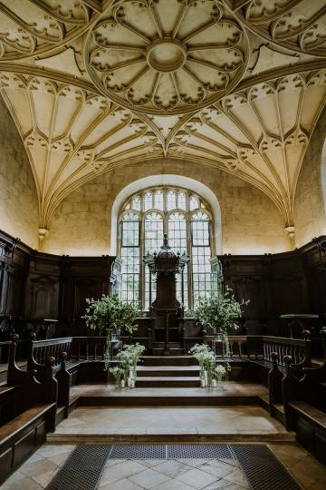 Civil Ceremony License Wedding Venues - Bodleian Library