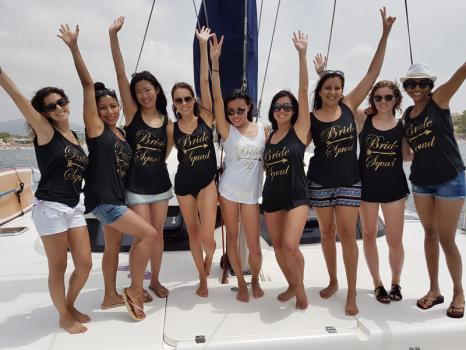 Hen Party & Stag Do - Sail4fun Catamaran Charter