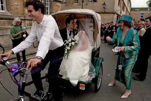 Wedding Transportation - OxonCarts