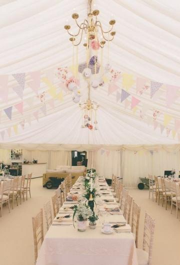 Marquee hire for Weddings - Richardson Marquees
