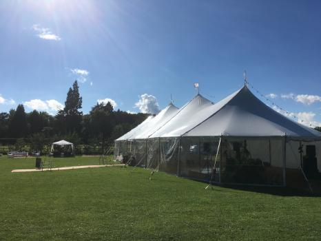 Marquee hire for Weddings - Inspired Event Structures