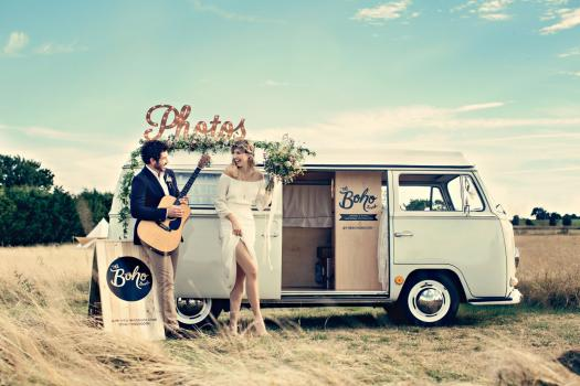 Photo Booths - The Boho Booth