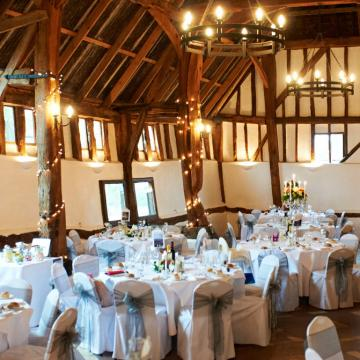 Exclusive Hire Wedding Venues - Smeetham Hall Barn