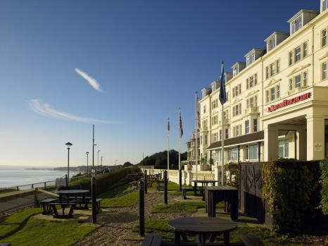 Coastal Wedding Venues - Bournemouth Highcliff Marriott Hotel