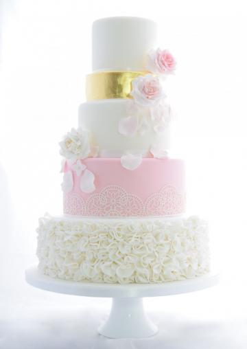 Wedding Cakes, Ideas, Inspiration and Makers - The White Rose Cake Company
