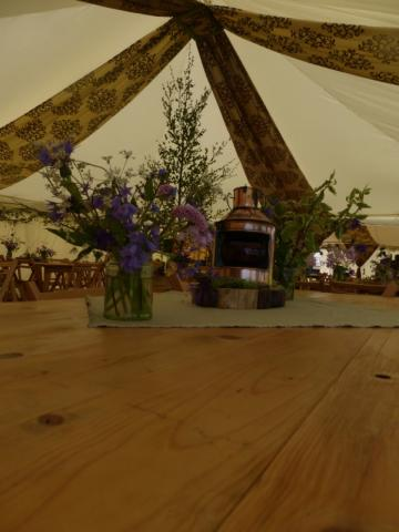 Marquee hire for Weddings - Festival Marquees
