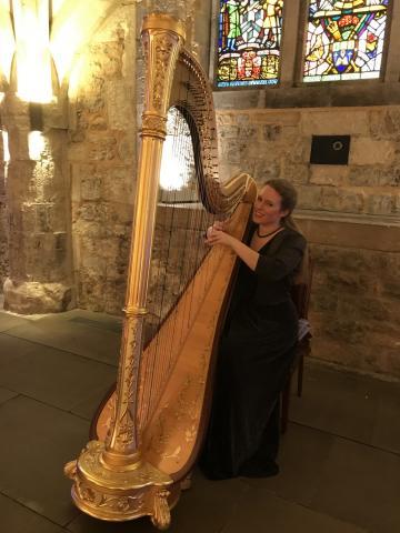 - Harriet Adie - Harpist