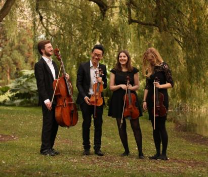 String Quartet Hire | Weddings - Opus String Quartet