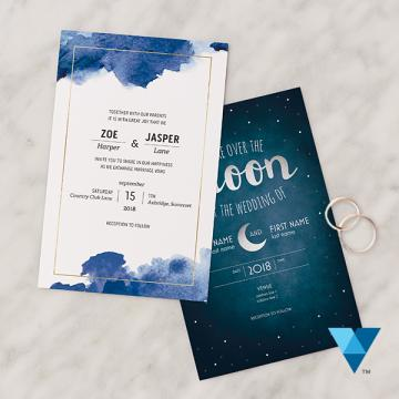 Cheap wedding invitations - Vistaprint