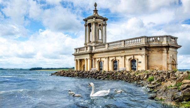 - Normanton Church at Rutland Water
