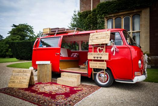 Find a Wedding Photographer - The Little Red Bus