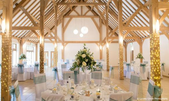 Civil Ceremony License Wedding Venues - Rivervale Barn