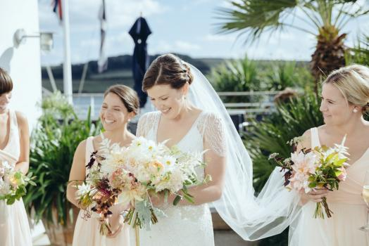 Coastal Wedding Venues - Hotel Tresanton