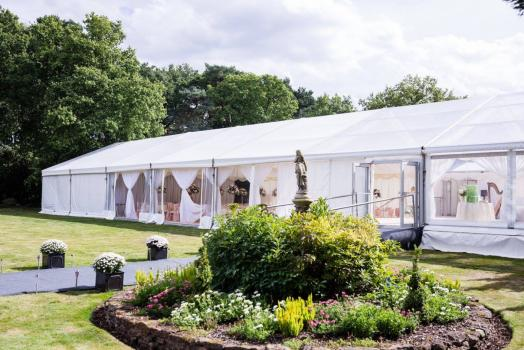 Marquee hire for Weddings - Relocatable Structures