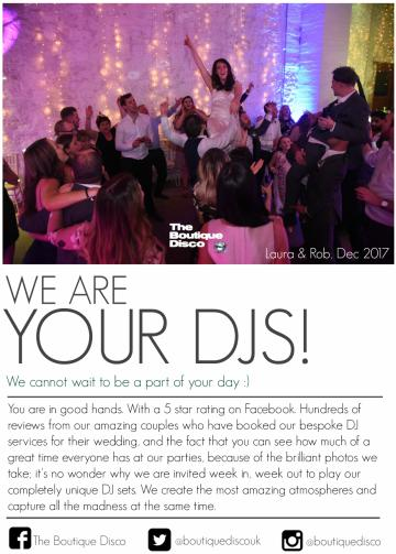 Wedding Decorations, Styling and Ideas - Boutique Disco