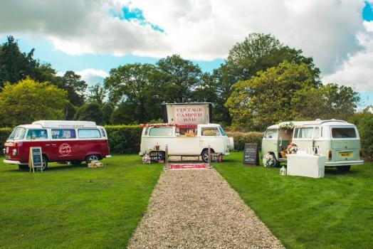 Wedding Catering  - Vintage Camper Booths