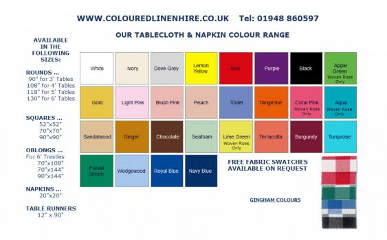 - Coloured Linen Hire Ltd