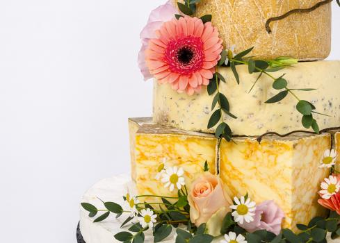 Wedding Cakes Near Me - THE CHEESE SHED