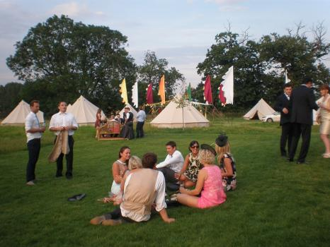 Marquee hire for Weddings - Red Sky Tent Co.