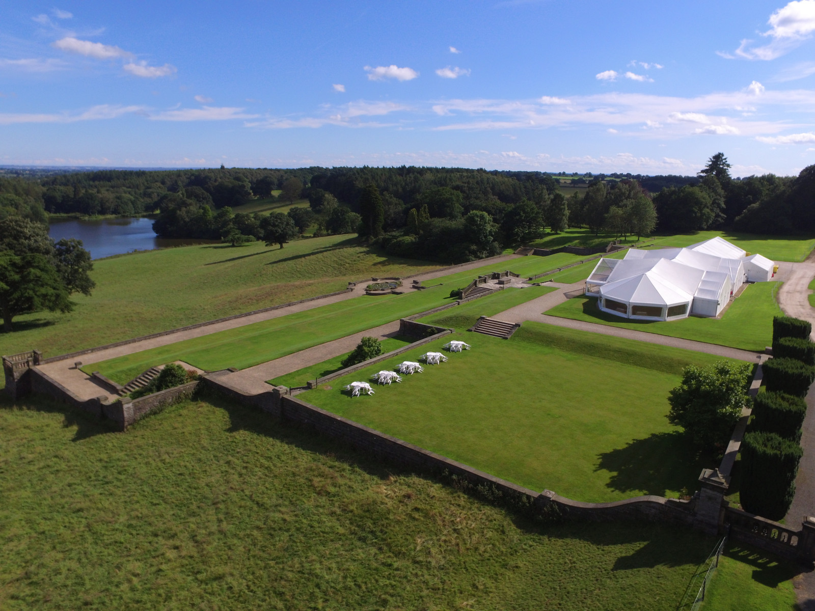Osmaston Park | Marquee Wedding Venues | WeddingPlanner.co.uk