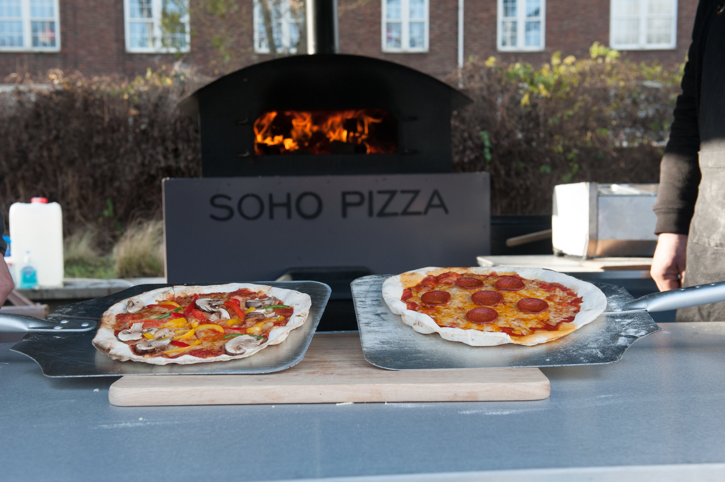 Soho Pizza, Wedding Pizza, Wedding Catering, Wedding Catering Alternatives