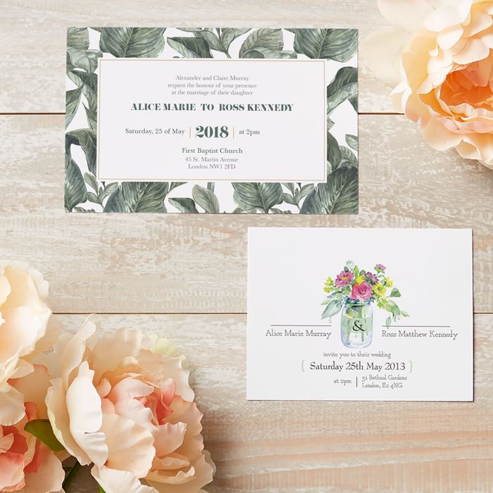 Cheap Wedding Invitations - Vistaprint - WeddingPlanner.co.uk