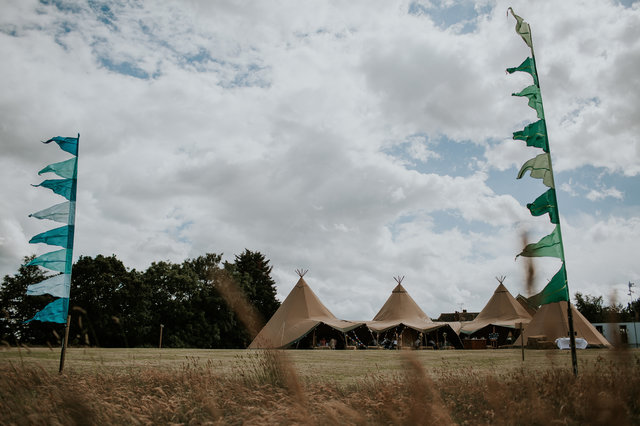 festivial tipi wedding
