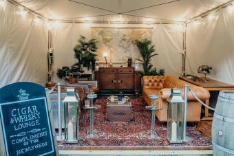 Fancy a gin or whiskey pop up lounge at your w...