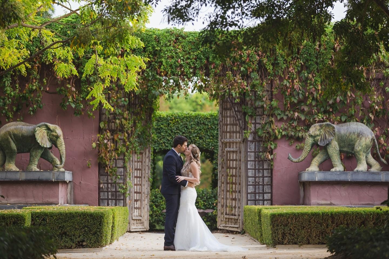 Aliesha & Jonathan\'s Secret Garden Wedding - WeddingPlanner.co.uk