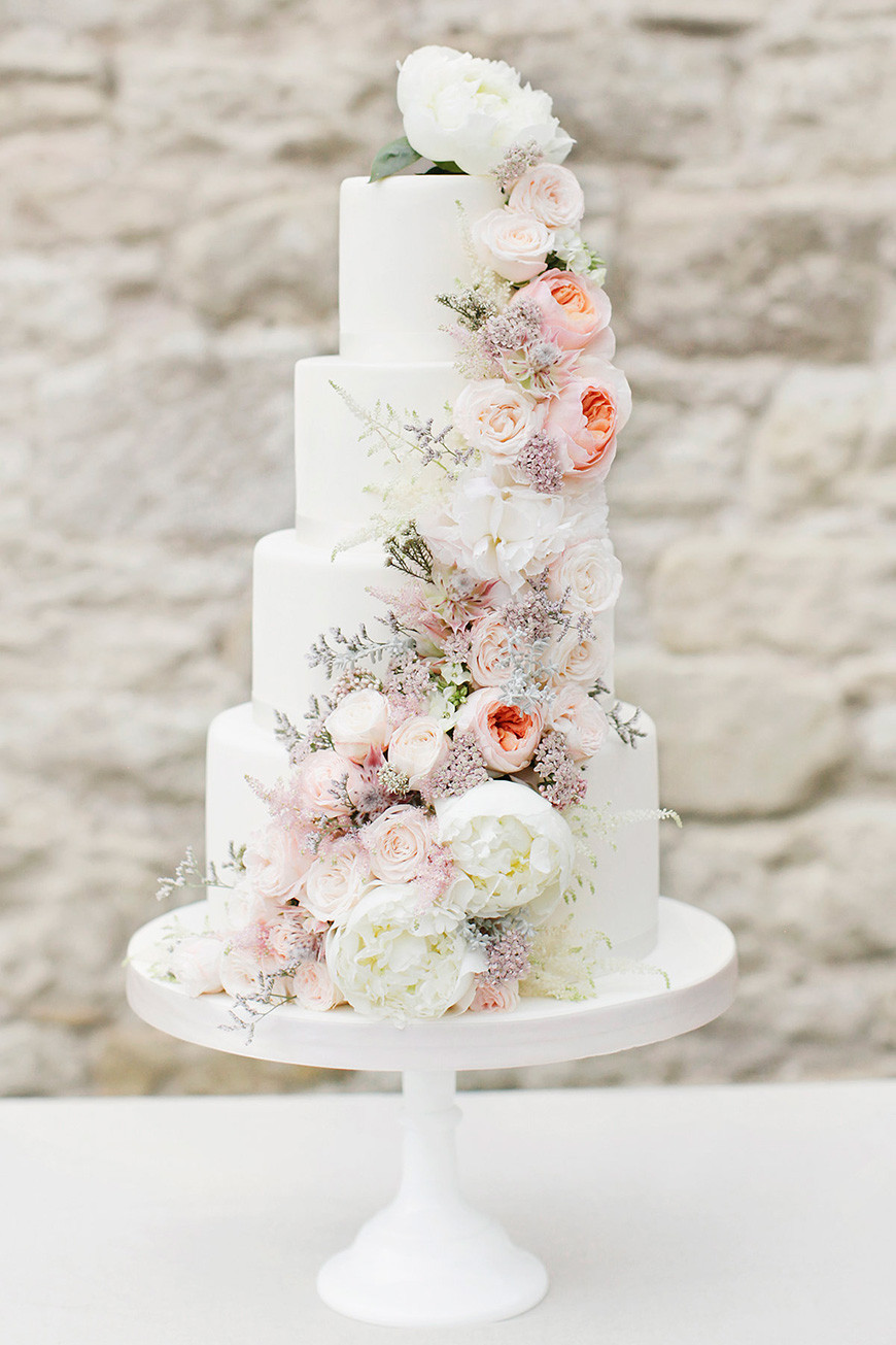 9 Beautiful Wedding Cake Ideas In 2018 Weddingplanner Co Uk