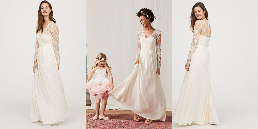 H & M Wedding Dress - Cheap Wedding Dresses - WeddingPlanner.co.uk