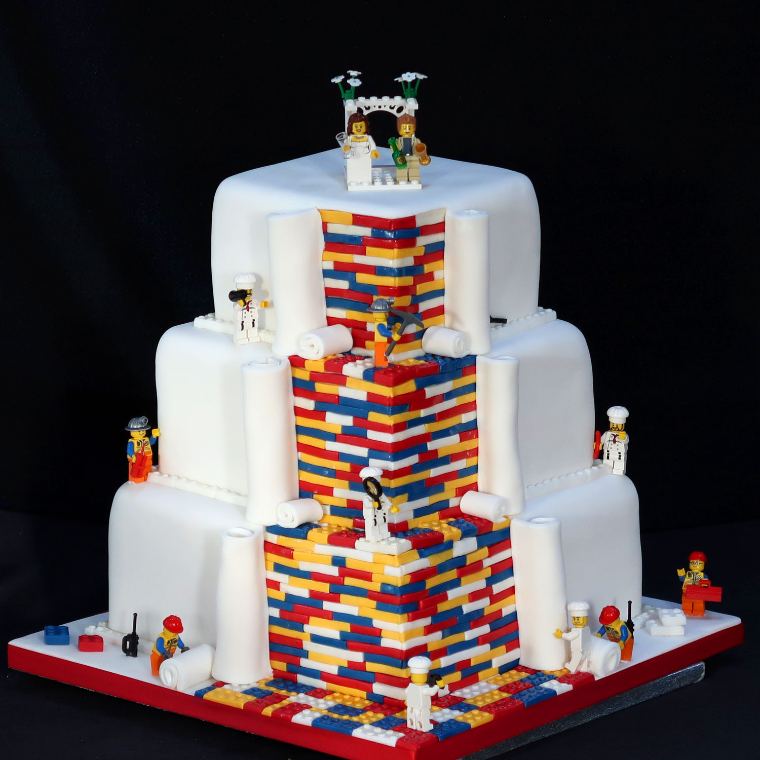 Fun Wedding Cake Ideas