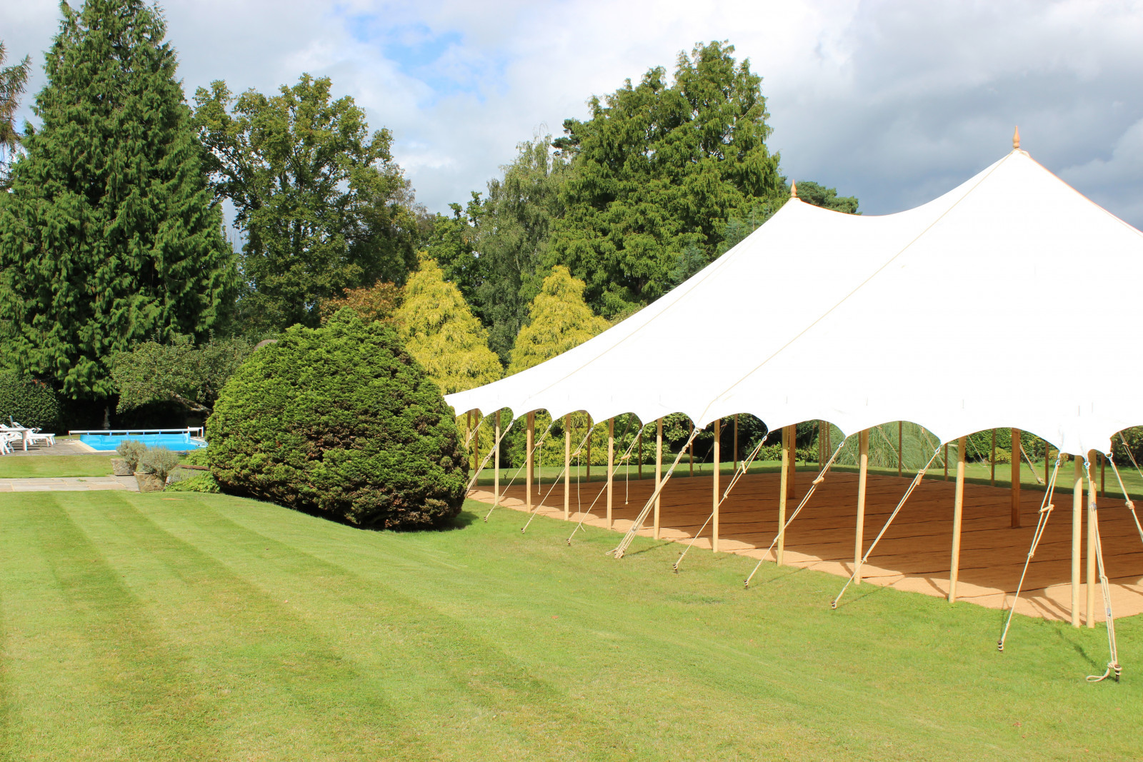 one six events, wedding marquee