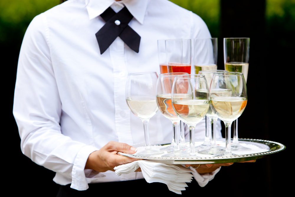 wedding waiting staff