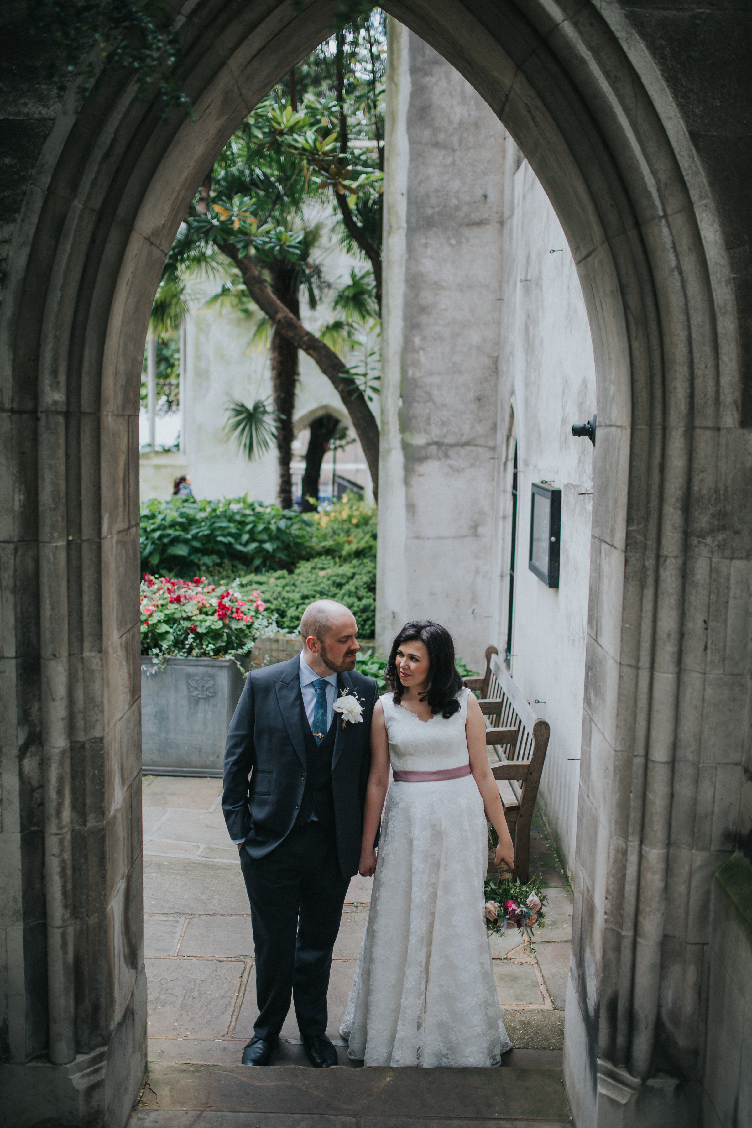 london tower bridge wedding