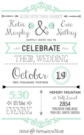 Fun Wedding Invitations - Wedding Invitations - WeddingPlanner.co.uk