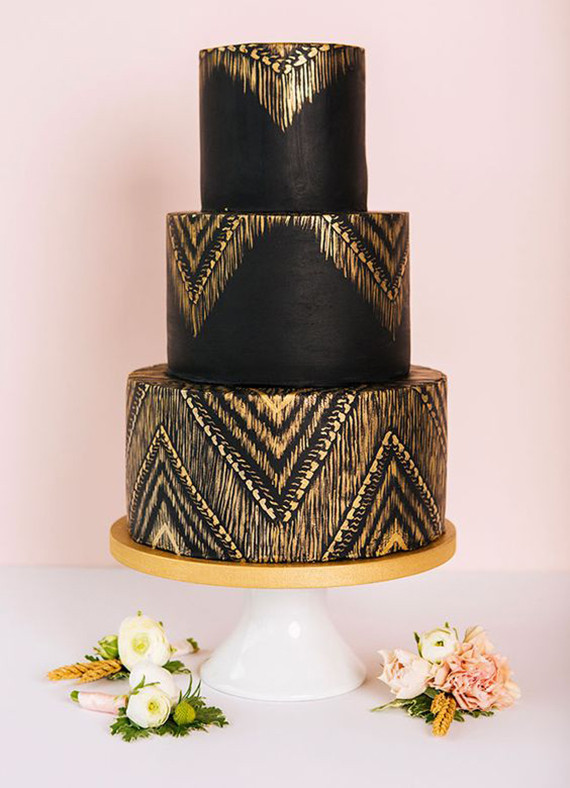 Black And White Wedding Cakes Cake Trends 2018