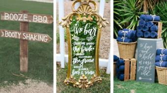 20 Fab Wedding Signs Your Guests Will Love