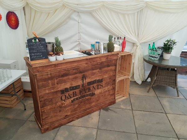 q&b events, mobile bar hire, wedding mobile bar hire