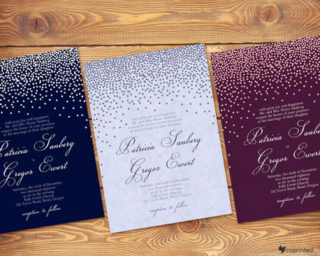 Glamourous Wedding Invitations - Wedding Invitations - WeddingPlanner.co.uk