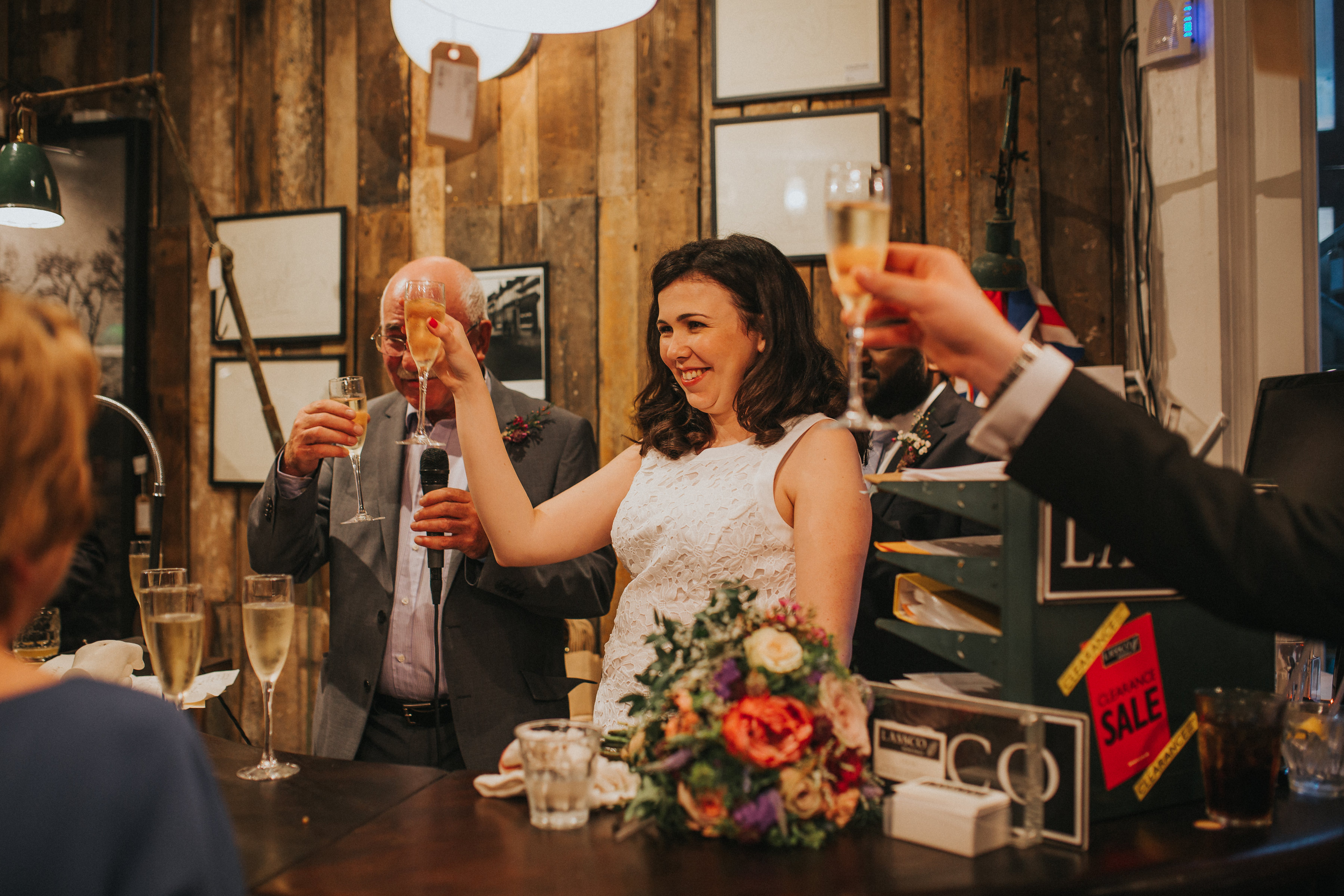 london wedding, food market wedding