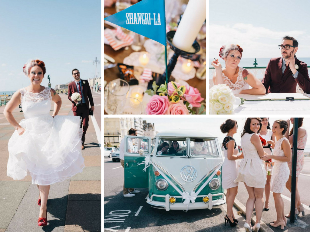 wedding planning, wedding inspiration, wedding ideas, brighton wedding, glastonbury wedding, retro wedding, quirky wedding, rock and roll wedding
