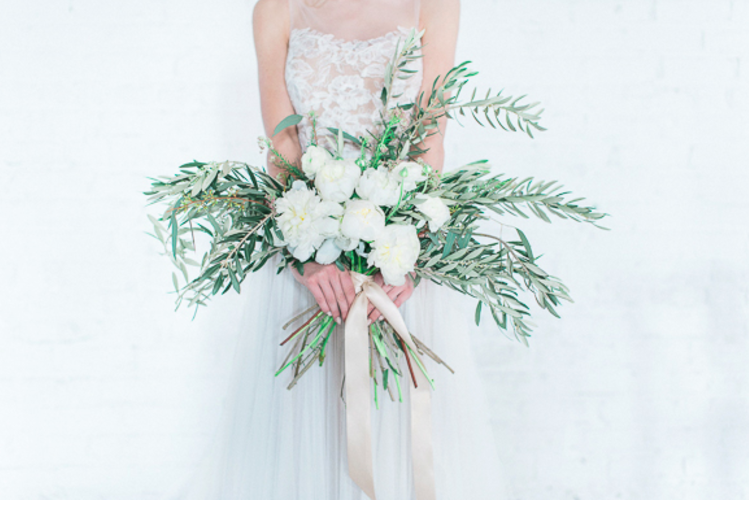 olive leaf bouquet