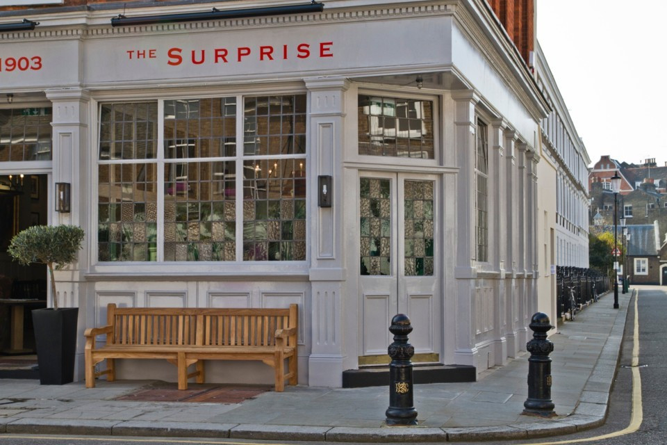 the surprise, small wedding venues london, intimate wedding venues london, affordable wedding venues london